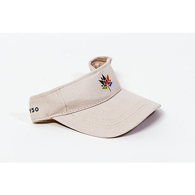 Canada 150 Celebration Visor, Beige, 3/Pack