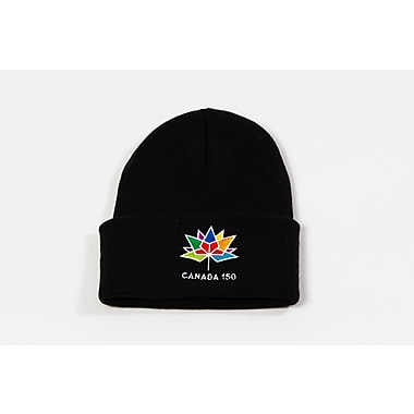 Canada 150 Celebration Tuque, Black, 2/Pack