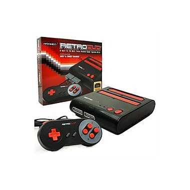 Retro-bit system NES/SNS, Red/Black