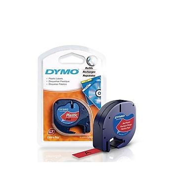 DYMO – Étiquettes en plastique LT, 1/2 po, 91333