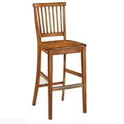 August Grove Collette 29'' Bar Stool; Brown