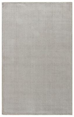 August Grove Nan Hand-Loomed Moonstruck/Ash Area Rug; 8' x 11'