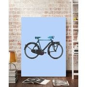 Artzee Designs 'Modern Country Bicycle' Graphic Art on Wrapped Canvas; 20'' H x 20'' W x 0.75'' D