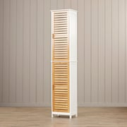 Bay Isle Home Carysfort Tall Storage Cabinet