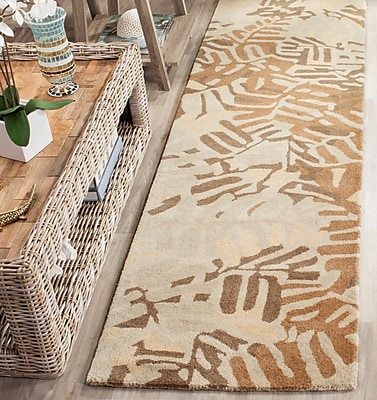 Martha Stewart Rugs Palm Leaf Hand-Loomed Spud Area Rug; Rectangle 9' x 12'