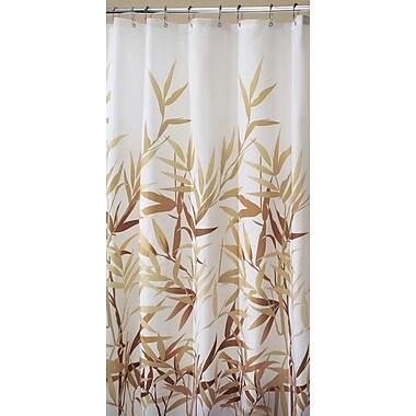Bay Isle Home Barleria Shower Curtain; Beige Print