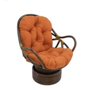 Bay Isle Home Tobago Swivel Rocker Chair; Spice
