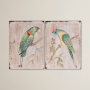 Bay Isle Home 2 Piece Parrot Wall D cor Set