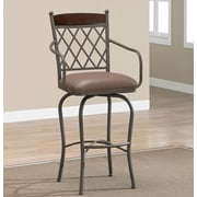 Bay Isle Home Dayflower 34'' Swivel Bar Stool