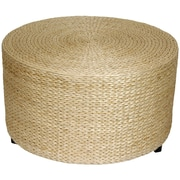 Bay Isle Home Horsetail Rush Grass Coffee Table/Ottoman; Natural