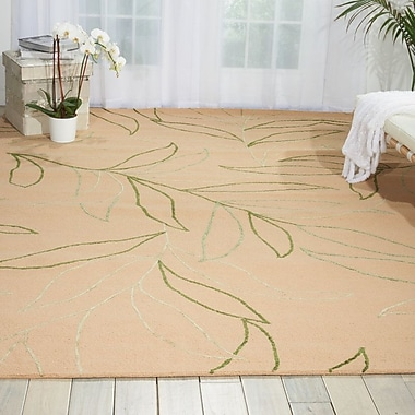 Bay Isle Home Boundary Beige Area Rug; 8' x 10'