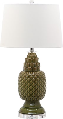 Bay Isle Home Biscayne 27.5'' Table Lamp (Set of 2); Spring Green