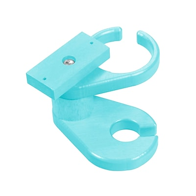 Bay Isle Home Trinidad Adirondack Chair Cup Holder; Sky Blue WYF078280250638