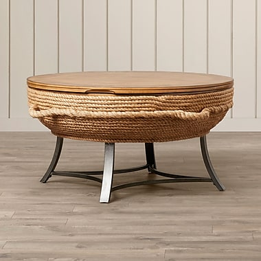 Bay Isle Home Dahlia Round Cocktail Table