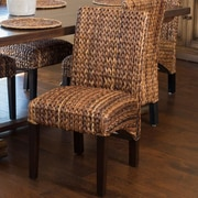 Bayou Breeze Arkhurst Solid Wood Dining Chair (Set of 2)