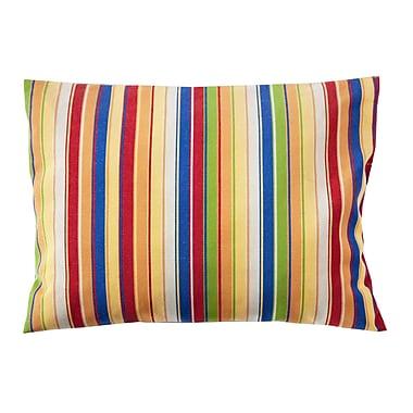 Bay Isle Home Trinidad Sunbrella Lumbar Pillow; Stripe