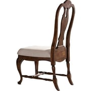World Menagerie Harrouda Traditional Side Chair (Set of 2); Mahogany