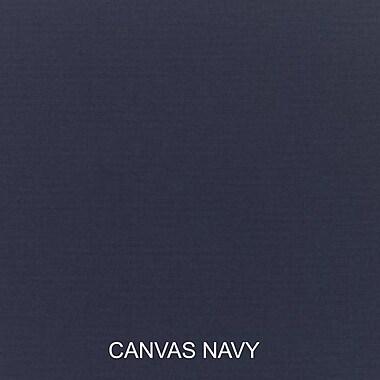 Bay Isle Home Pillow and Cushion 6-pc Sofa Cushion; Canvas Navy