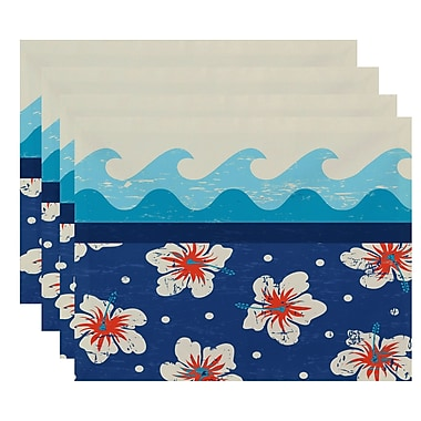 Bay Isle Home Pembrook Floral Placemat (Set of 4)