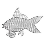 Bay Isle Home Wire Fish Wall Decor