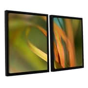 Bay Isle Home Autumn Grass 2 Piece Framed Photographic Print on Wrapped Canvas Set