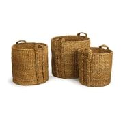 Bay Isle Home 3 Piece Round Baskets Set