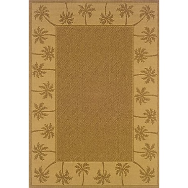 Bay Isle Home Goldenrod Tan/Beige Indoor/Outdoor Area Rug; 2'5'' x 4'5''