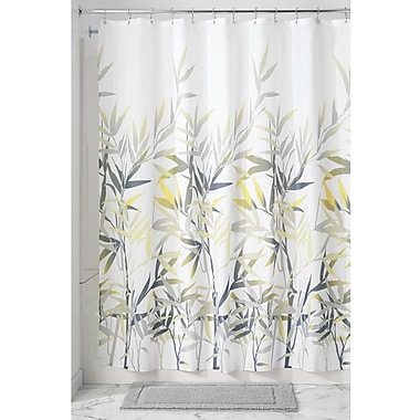 Bay Isle Home Barleria Shower Curtain; Yellow