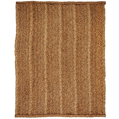 Bay Isle Home Lundholm Hand-Woven Natural Area Rug; 8' x 10'