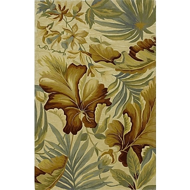 Bay Isle Home Murray Ivory Paradise Area Rug; 8'6'' x 11'6''