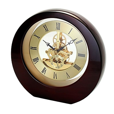 Natico Originals 10-5388 Interactive Gear Clock, Mahogany