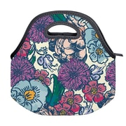 Erin Condren Lunch Tote, Floral Ink (ACC LNT 01)