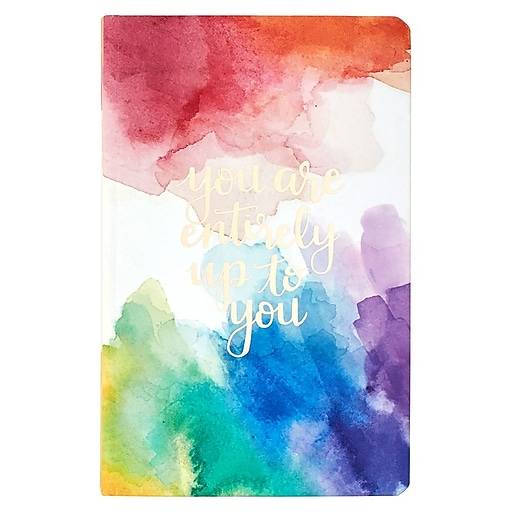 Erin Condren Hardbound LifePlanner™, 2017-2018 Watercolor Quote, 5x8 (HBLP 18M2017 04)