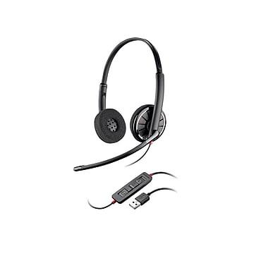 Plantronics – Écouteurs stéréo Blackwire C320