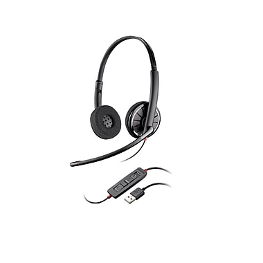 Plantronics Blackwire c320-m Stereo Headset, Microsoft