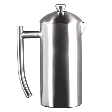 Frieling Brushed 18/10 Stainless Steel French Press, 17-Ounce (#0142)
