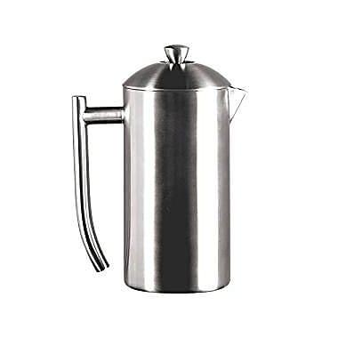 Frieling – Cafetière à piston en acier inoxydable brossé 18/10, 23 oz (#0143)