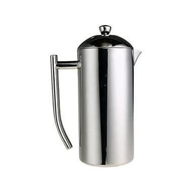 Frieling – Cafetière à piston en acier inoxydable brossé 18/10, 36 oz (#0144)