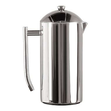 Frieling Polished 18/10 Stainless Steel French Press, 44 Ounce (#0130)