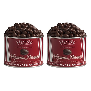 Feridies Chocolate Covered Red Stripes (2 Pack)