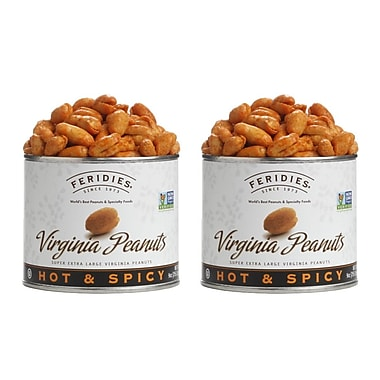 Feridies Virginia Hot & Spicy Peanuts (2 Pack)