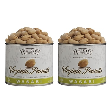 Feridies Virginia Wasabi Peanuts (2 Pack)