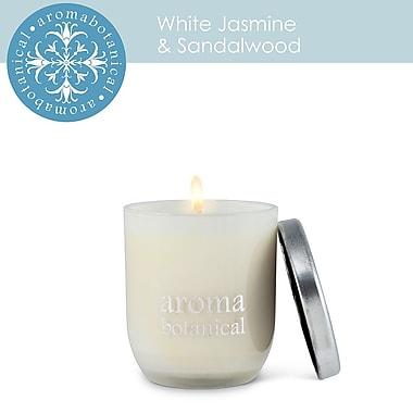 Aromabotanical – Bougie au parfum de jasmin et de bois de santal, taille petite (16-AB/005 JS)