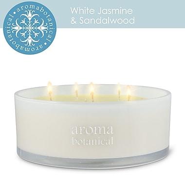 Aromabotanical 6 Wick Jasmine & Sandlewood Candle (16-AB/200 JS )