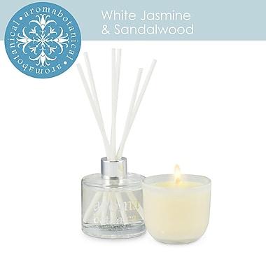 Aromabotanical Jasmine & Sandlewood Gift Set Candle + Diffuser (16-AB/SET JS )