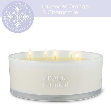 Aromabotanical 6 Wick Lavender Orange & Chamomile Candle (16-AB/200 LO )