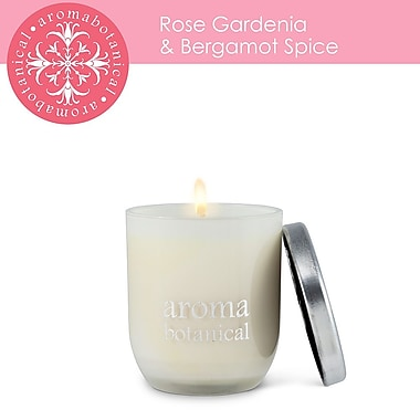 Aromabotanical Small Rose, Gardenia & Bergamot Spice Candle (16-AB/005 RG )