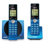 Vtech 2- Handset Cordless Phone with Caller ID & Call Waiting, Blue (CS6919-25)