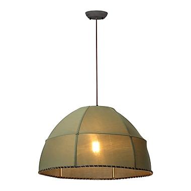Bay Isle Home Lombardy 1-Light Bowl Pendant