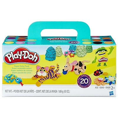 Hasbro Play-Doh® Super Color Pack, 3 oz. Cans, 20/Pack